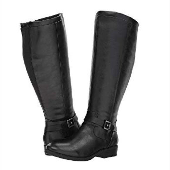 eff2b0d50ed6f BareTraps Shoes | Yvonna 2 Wide Calf Black Boots 8 | Poshmark